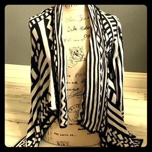 Abstract cardigan